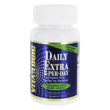 DROPPED: Vita Logic - Daily Extra 2-A-Day - 60 Tablets