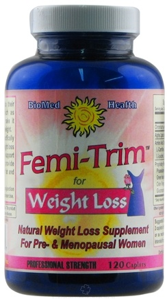 DROPPED: BioMed Health - Femi-Trim Weight Loss Supplement For Pre- & Menopausal Women - 120 Capsules CLEARANCE PRICED