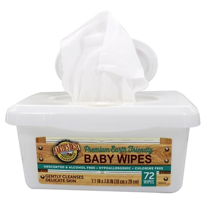DROPPED: Earth's Best - TenderCare Chlorine Free Baby Wipes Pop Up Tub - 80 Wipe(s) CLEARANCE PRICED