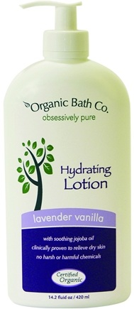 DROPPED: Organic Bath Company - Hydrating Lotion Lavender Vanilla - 14.2 oz.