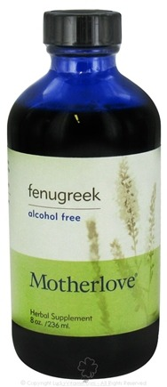 DROPPED: Motherlove - Fenugreek Alcohol Free - 8 oz. CLEARANCE PRICED
