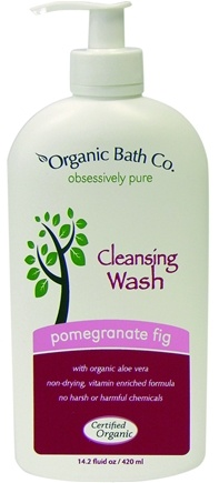 DROPPED: Organic Bath Company - Cleansing Wash Pomegranate Fig - 14.2 oz.