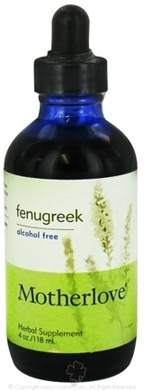 DROPPED: Motherlove - Fenugreek Alcohol Free - 4 oz. CLEARANCE PRICED