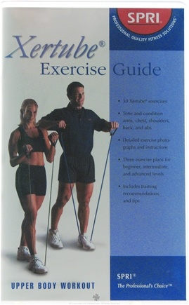 DROPPED: SPRI - Xertube Exercise Guide - 1 Book(s) CLEARANCE PRICED