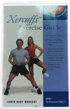 DROPPED: SPRI - Xercuffs Exercise Guide - 1 Book(s) CLEARANCE PRICED