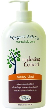 DROPPED: Organic Bath Company - Hydrating Lotion Honey Chai - 14.2 oz.