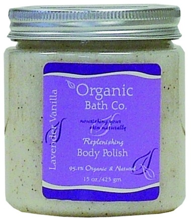 DROPPED: Organic Bath Company - Replenishing Body Polish Lavender Vanilla - 15 oz.