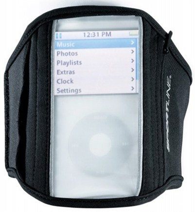 DROPPED: Sportline - 860 Reflective Sport Armband Designed For iPods Black - CLEARANCE PRICED