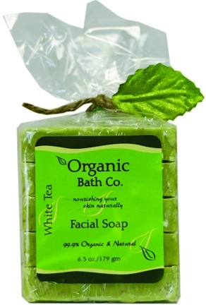 DROPPED: Organic Bath Company - Exfoliating Castile Soap White Tea - 6.3 oz.