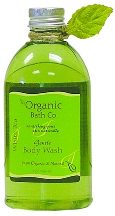 DROPPED: Organic Bath Company - Non-drying Body Wash White Tea - 9 oz.