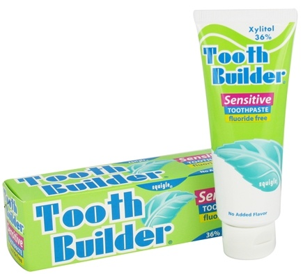 Squigle - Tooth Builder Sensitive Toothpaste - 4 oz.