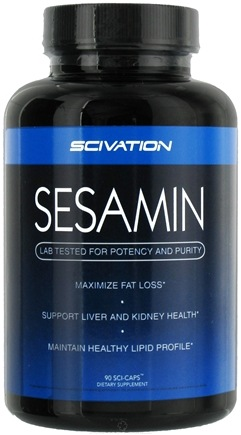 DROPPED: Scivation - Sesamin - 90 Capsules CLEARANCE PRICED