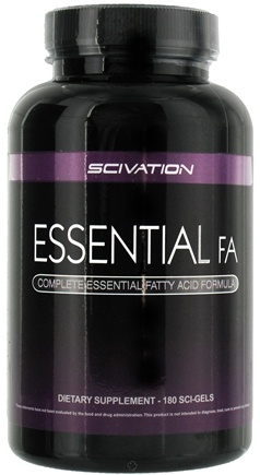 DROPPED: Scivation - Essential FA Complete Fatty Acid - 180 Softgels
