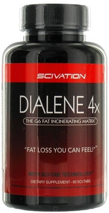 DROPPED: Scivation - Dialene 4x Fat Incenerator - 90 Tablets