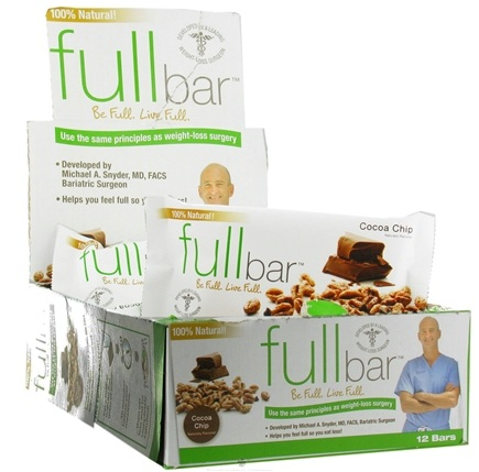 DROPPED: Full Bar - Weight Loss Bar Cocoa Chip - 1.59 oz.