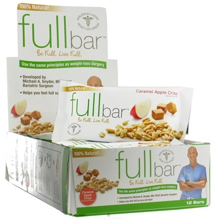 DROPPED: Full Bar - Weight Loss Bar Caramel Apple Crisp - 1.59 oz. CLEARANCE PRICED