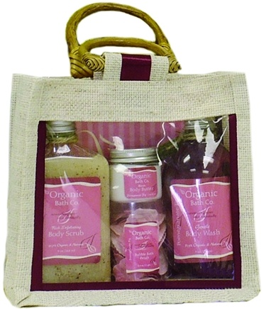 DROPPED: Organic Bath Company - Pure Simplicity Gift Set Pomegranate Fig CLEARANCE PRICED
