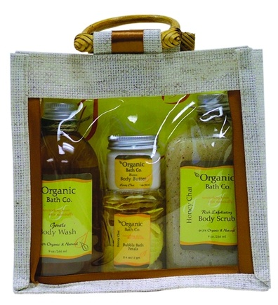 DROPPED: Organic Bath Company - Pure Simplicity Gift Set Honey Chai