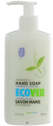 DROPPED: Ecover - Ecological Hand Soap Lavender & Aloe Vera - 8.4 oz. CLEARANCE PRICED