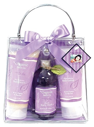 DROPPED: Organic Bath Company - Ready To Glow Gift Set Lavender Vanilla