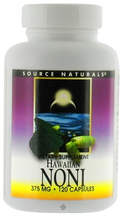 DROPPED: Source Naturals - Hawaiian Noni 375 mg. - 120 Capsules CLEARANCE PRICED