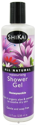 Shikai - Moisturizing Shower Gel Honeysuckle - 12 oz.