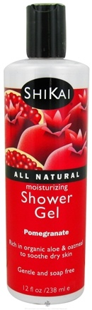 DROPPED: Shikai - Moisturizing Shower Gel Pomegranate - 12 oz.
