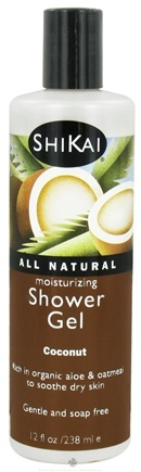 Shikai - Moisturizing Shower Gel Coconut - 12 oz.