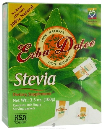 DROPPED: Erba Dolce - Stevia - 100 Packet(s)