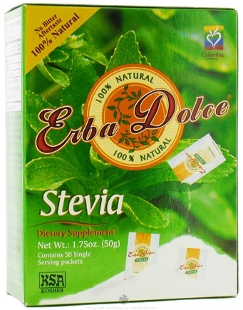 DROPPED: Erba Dolce - Stevia - 50 Packet(s)