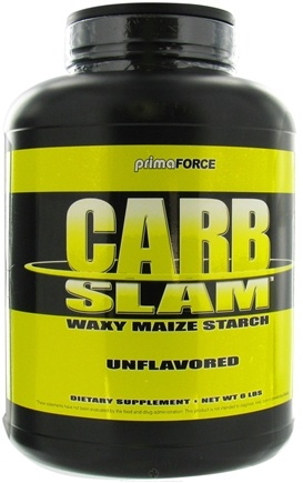 DROPPED: Primaforce - Carb Slam - 6 lbs. CLEARANCE PRICED