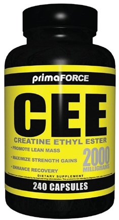 DROPPED: Primaforce - CEE- Creatine Ethyl Ester 2000 mg. - 240 Capsules