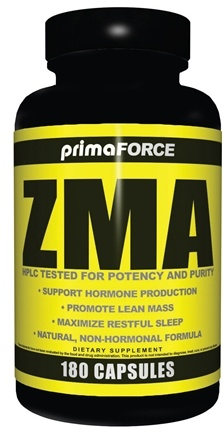 DROPPED: Primaforce - ZMA - 180 Vegetarian Capsules