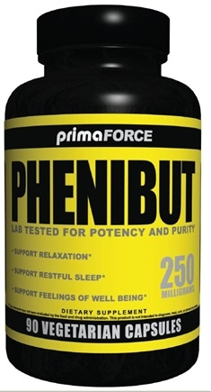 DROPPED: Primaforce - Phenibut Relaxtion Support 250 mg. - 90 Vegetarian Caplet(s) CLEARANCE PRICED