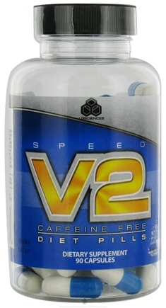 DROPPED: LG Sciences - Speed V2 Diet Pills Caffeine Free - 90 Capsules CLEARANCE PRICED