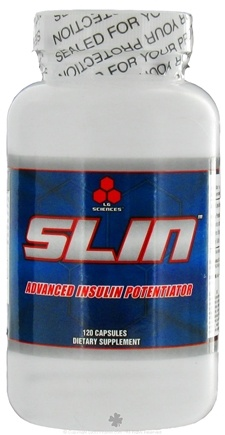 DROPPED: LG Sciences - Slin Advanced Insulin Potentiator - 120 Capsules CLEARANCE PRICED