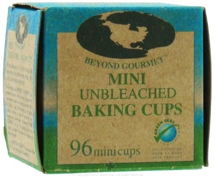 DROPPED: Beyond Gourmet - Unbleached Mini Baking Cups - 96 Cup(s) CLEARANCE PRICED