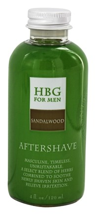 Honeybee Gardens - For Men Aftershave Sandalwood - 4 oz.