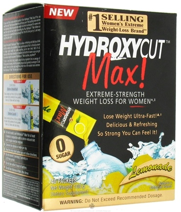 DROPPED: Muscletech Products - Hydroxycut Max Lemonade - 40 Packet(s)