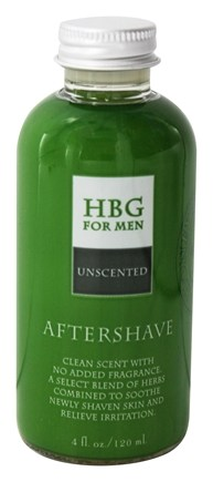 Honeybee Gardens - For Men Aftershave Unscented - 4 oz.