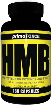 DROPPED: Primaforce - HMB 500 mg. - 180 Capsules