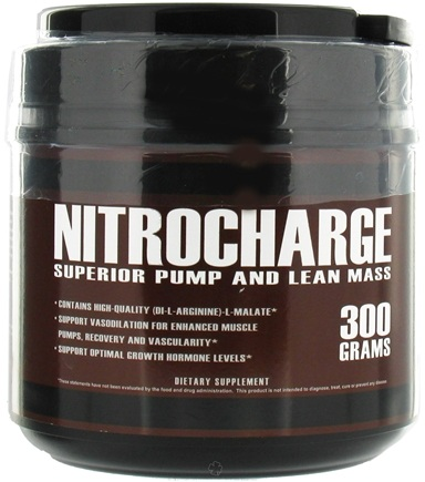 DROPPED: Primaforce - Nitrocharge Superior Pump and Lean Mass - 300 Grams CLEARANCE PRICED