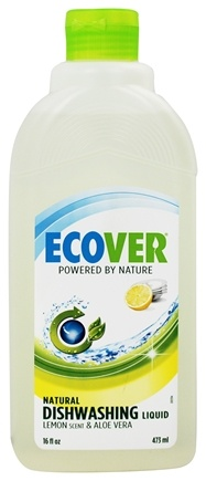DROPPED: Ecover - Dishwashing Liquid Lemon & Aloe Vera - 16 oz.