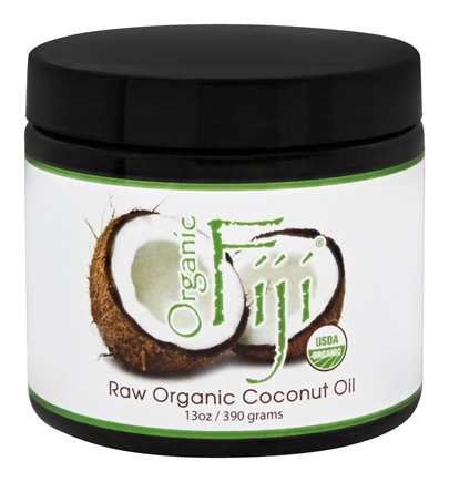 DROPPED: Organic Fiji - Cold Pressed Coconut Cooking Oil - 13 oz.
