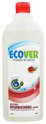 DROPPED: Ecover - Ecological Dishwashing Liquid Grapefruit & Green Tea - 32 oz.