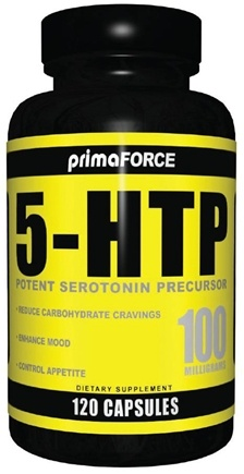 DROPPED: Primaforce - 5-HTP Potent Serotonin Precursor 100 mg. - 120 Vegetarian Caplet(s)