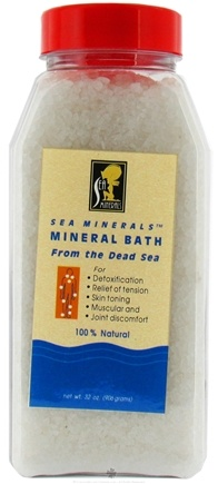 DROPPED: Sea Minerals - Mineral Bath From The Dead Sea - 32 oz. CLEARANCE PRICED