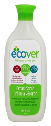 Ecover - Cream Scrub Cleaner - 16 oz.
