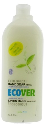 DROPPED: Ecover - Ecological Hand Soap Refill Lavender and Aloe Vera - 33.8 oz.