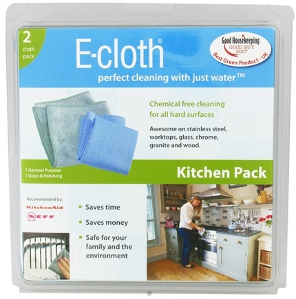 DROPPED: E-Cloth - Kitchen Pack - 2 Cloth(s) CLEARANCE PRICED